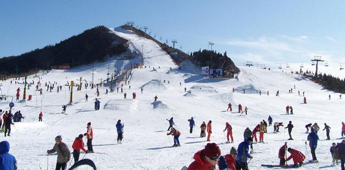 北京莲花山滑雪场